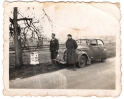 Automobile 1939 Peugeot 402 - Militaire De Cannes Près Pargny Sur Saulx Sermaize Les Bains Et Bar Le Duc - Guerre 1939-45