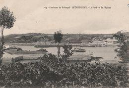 DPT 22 Environs De Paimpol LEZARDRIEUX Le Port Vu De L'Eglise  Cpa TBE - France