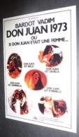 Carte Postale : Brigitte Bardot (film Cinéma Affiche) Don Juan 1973 Ou Si Don Juan était Une Femme... - Posters On Cards