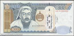 TWN - MONGOLIA 67b - 1000 1.000 Tögrög 2007 Prefix AK UNC - Mongolei