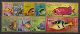 Umm-al-Qiwain - 1967 - N°Mi. 189 à 197 - Poissons / Fishes - Complete Set - Neuf Luxe ** / MNH / Postfrisch - Umm Al-Qaiwain