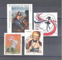 France Oblitérés : Coeur De Guerlain 0,97 - Année Du Rat PF - N° 5294 & 5355 (cachet Rond) - Frankrijk