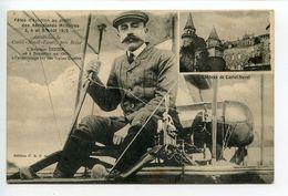 Castel Novel- Varetz Près Brive Fête D'aviation Août 1912 L'aviateur Didier - France