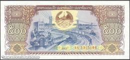TWN - LAOS 31b - 500 Kip 2015 Prefix AA UNC - Laos