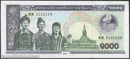 TWN - LAOS 32Ab - 1000 1.000 Kip 2003 Prefix MM UNC - Laos