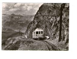 74 Saint Gervais Les Bains Nid D' Aigle Au Pied De Rognes Tramway CPSM GF Train Locomotive Chemin De Fer - Saint-Gervais-les-Bains
