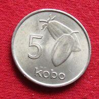 Nigéria 5 Kobo 1974 KM# 9.1  *V2 - Nigeria