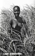 """Guiné Portuguesa Ethnique Ethnic Nú Nude Naked Bajuda """"Balanta"""" No Arrozal Mansôa Unused Non Voyagé - Africa"""