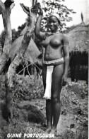 Guiné Portuguesa Ethnique Ethnic Nú Nude Naked Bajuda Manjaca Pecixe Unused Non Voyagé - Africa