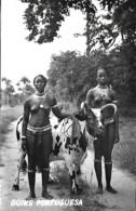 Guiné Portuguesa Ethnique Ethnic Nú Nude Naked Vaqueiras Manjacas Pecixe Unused Non Voyagé - África