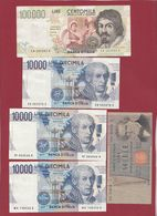 Italie 13 Billets Dans L 'état - Italien