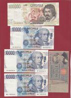 Italie 13 Billets Dans L 'état - Italy