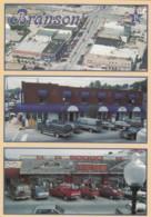 Branson Missouri, Downtown Business District Views, C1990s Vintage Postcard - Branson