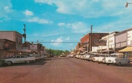 Branson Missouri, Commercial Street Scene, Autos C1950s/60s Vintage Postcard - Branson