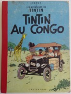 TINTIN AU CONGO - 1960 4e Plat B27 Bis Par Hergé - Tintin