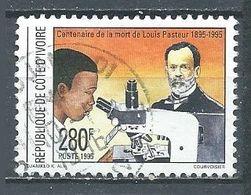 Cote D'Ivoire YT N°954 Louis Pasteur Oblitéré ° - Côte D'Ivoire (1960-...)