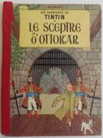 TINTIN Le Sceptre D'Ottokar - 1960 4e Plat B27 Bis Par Hergé, Dos Rouge - Tintin