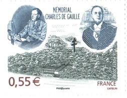 Timbre YT 4243 Neuf** Mémorial Du Général Charles De Gaulle à Colombey-les-deux-églises - De Gaulle (General)