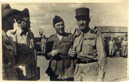 Photo De Presse INDOCHINE 1946 Général LECLERC De HAUTECLOCQUE - 4 - - Oorlog, Militair