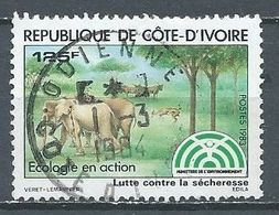 Cote D'Ivoire YT N°669 Ecologie En Action Oblitéré ° - Côte D'Ivoire (1960-...)