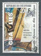 Cote D'Ivoire YT N°920 Biennale Africaine Des Arts Plastiques  Oblitéré ° - Côte D'Ivoire (1960-...)