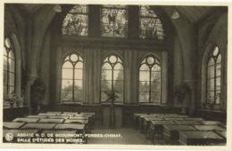 Forges Chimay Abbaye N. D. De Scourmont Salle D'etudes Des Moines - Chimay