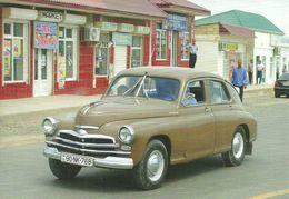 CAR * POBEDA GAZ M20 * QOBUSTAN * BAKU * AZERBAIJAN * SOVIET UNION * CCCP * Top Card 0908 * Hungary - PKW
