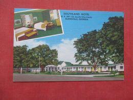 Southland Motel  Glennville  - Georgia    Ref 4157 - Etats-Unis