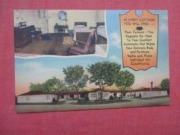 Dodson Motel / New Plaza Court Hugo Oklahoma >   Ref 4158 - Etats-Unis