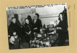 PHOTO DE PRESSE .  MONTPELLIER  .  AFFAIRE PORTAL  Domaine De La Fumade En 1975 - Lieux