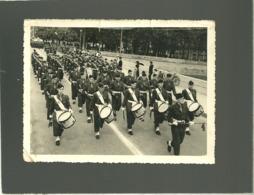 53 Laval Cliché Format 9 X 12 Cms Défilé Musique Militaire 14 Juillet 1953 Sur Le Pont De Mayenne - Laval