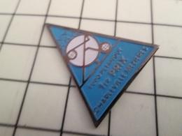 516b Pin's Pins / Beau Et Rare / THEME : SPORTS / EURO PETANQUE 1e PRIX CHARLEVILLE MEZIERES - Pétanque