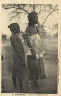 SENEGAL  Femme Et Fillette Peuls  RV - Sénégal