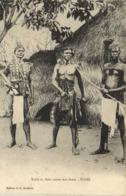 Kabri In Their Native War Dress TOGO RV - Togo