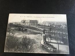 828 - PARIS Vue Panoramique Du Metro Et De La Grande Roue - Métro Parisien, Gares