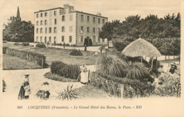 LOCQUIREC LE GRAND HOTEL DES BAINS LE PARC - Locquirec