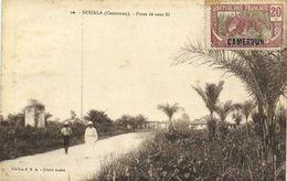 DOUALA (Cameroun ) Poste De Sans Fil  + Beau Timbre 20c Cameroun RV - Cameroun