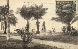 DOUALA (Cameroun ) Parc Du Gouverneur  +  Beau Timbre 5c Cameroun RV - Camerún