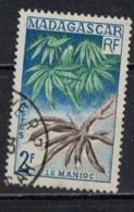 MADAGASCAR           N°  YVERT    332   ( 1 )    OBLITERE       ( OB  6 / 48 ) - Madagascar (1889-1960)