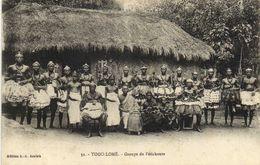 TOGO LOME  Groupe De Féticheurs RV - Togo