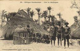 Afrique Occidentale  Chez Les Mankaignes   Fortier RV - Sénégal