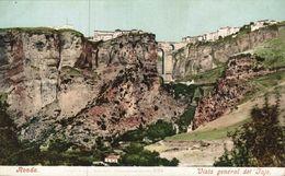 Málaga - Ronda, Vista General Del Tajo. Andalucia // España - Málaga