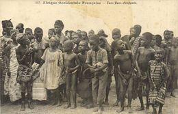 Afrique Occidentale  Tam Tam D'enfants  Fortier RV - Sénégal