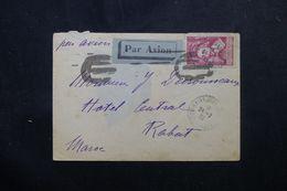 FRANCE - Cardinal Richelieu Sur Enveloppe Par Avion Pour Le Maroc En 1933 - L 63182 - Marcophilie (Lettres)