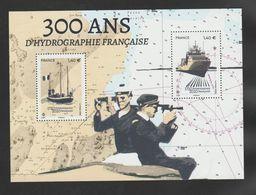 """FRANCE / 2020 / Y&T N° 5398/5399 ? ** Bloc Ou F5398 ** ? (Feuillet """"300 Ans D'hydrographie Française"""") X 1 - Mint/Hinged"""