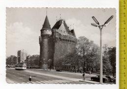 1960 BRUXELLES Porte De Hal FG/V SEE 2 SCANS Animee Tram - Monuments, édifices