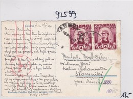 GG: Ansichtskarte Aus Rumänien Nach Stommiki, Zensur - Occupation 1938-45