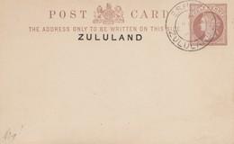 Zululand: Post Card Eshowe 1894 - Afrique Du Sud (1961-...)
