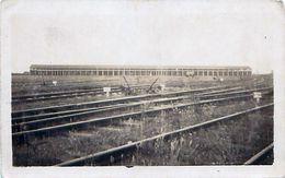 Cpa Carte Photo VILLENEUVE SAINT GEORGES 94 Dépôt Des Locomotives - Villeneuve Saint Georges