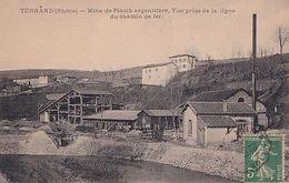 TERNAND          MINE DE PLOMB ARGENTIFERE - France
